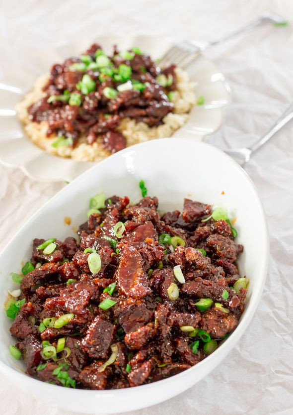Mongolian Recipes Vegetarian  PF Chang s Mongolian Beef Copycat Recipe
