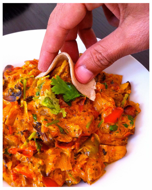 Mushroom Recipes Vegetarian  Mushroom Tikka Masala