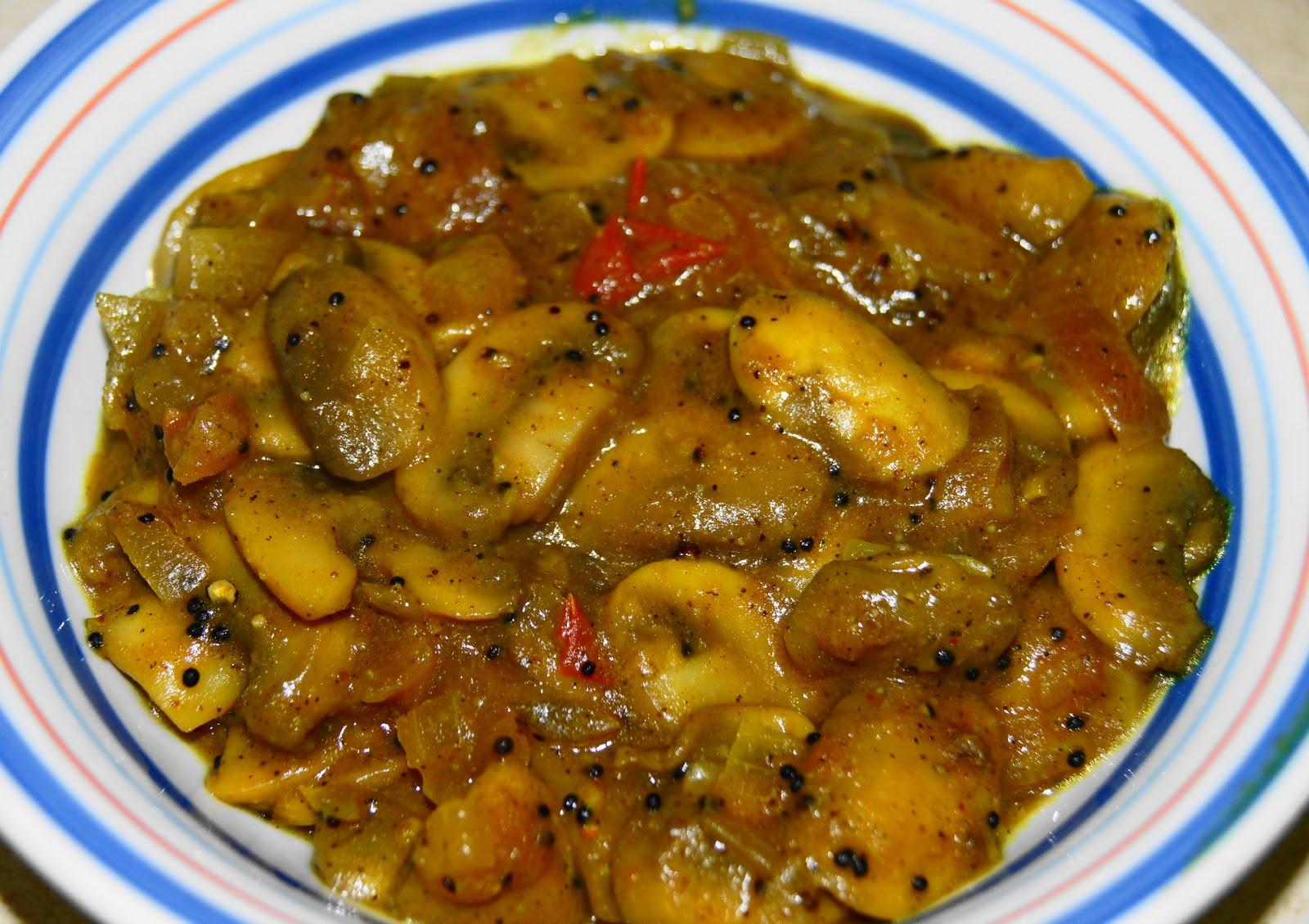 Mushroom Recipes Vegetarian  Simple Ve arian Recipes Mushroom Chettinad