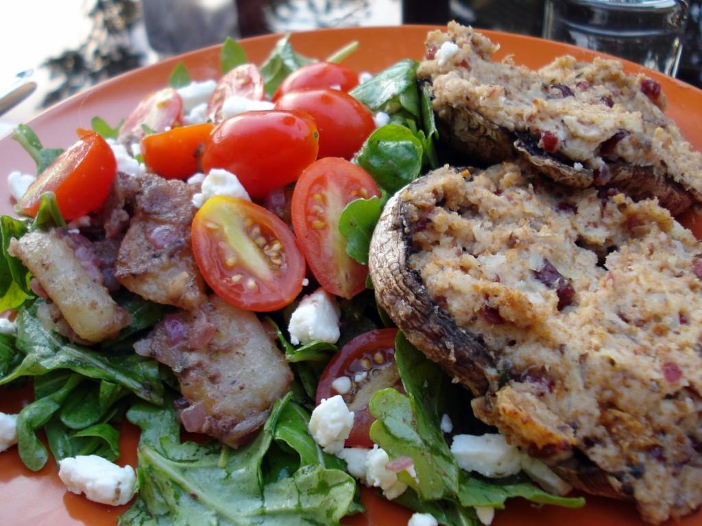Mushroom Recipes Vegetarian  healthy stuffed portobello mushroom recipes