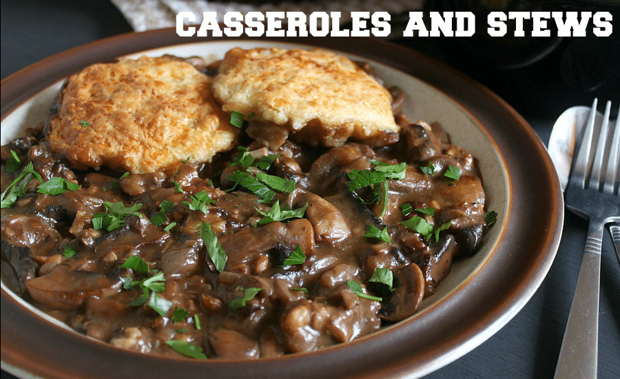 Mushroom Recipes Vegetarian  vegan mushroom stew