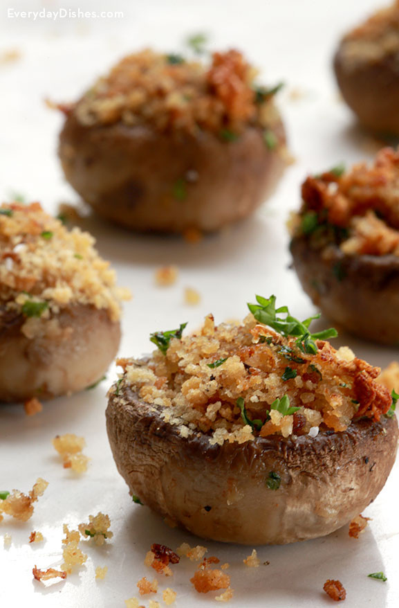 Mushroom Recipes Vegetarian  vegan stuffed mushroom recipes