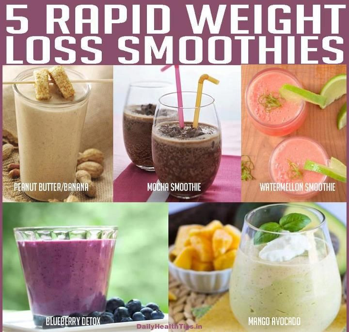 Ninja Smoothie Recipes For Weight Loss  weight loss smoothies Green smoothies