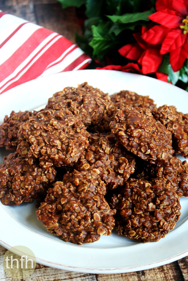 No Bake Gluten Free Cookies  Gluten Free Vegan Chocolate Peanut Butter Oatmeal No Bake