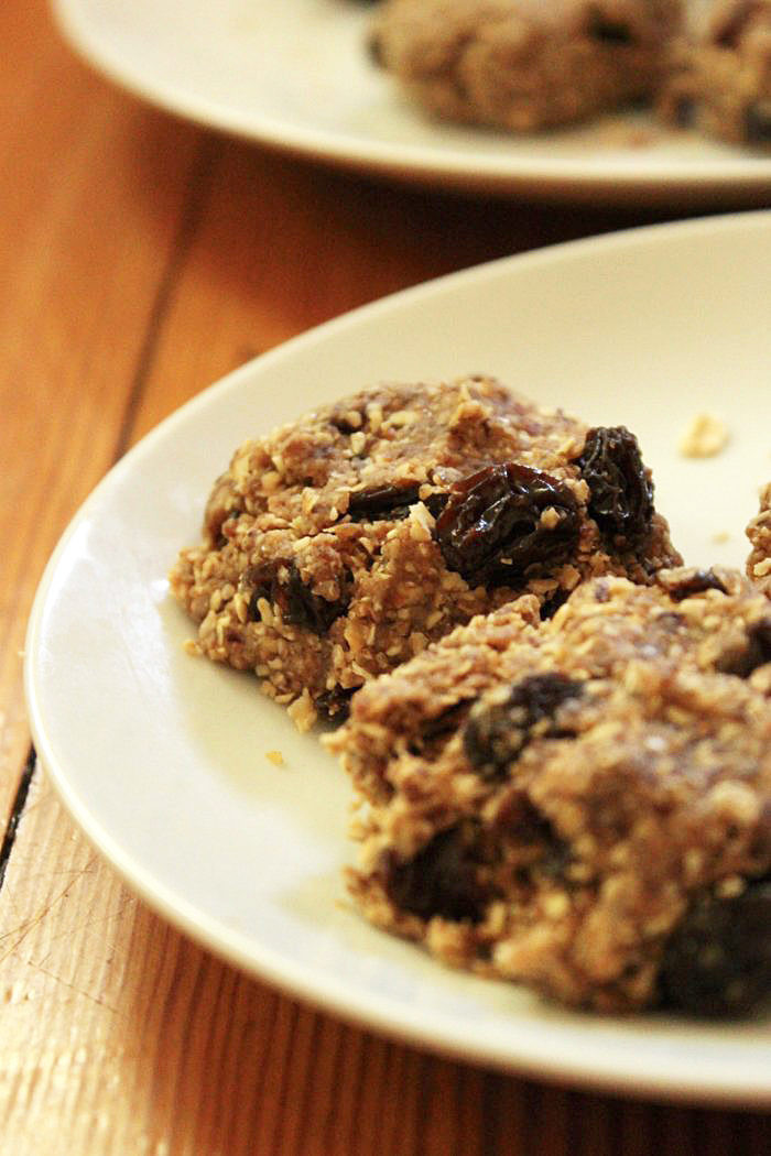No Bake Vegan Oatmeal Cookies  Vegan Dessert Recipes No Bake Oatmeal Raisin Cookies