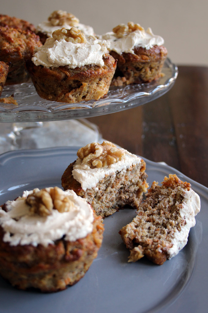 No Sugar Low Carb Recipes  Healthy Carrot Cake Muffins – Sugar Free Londoner