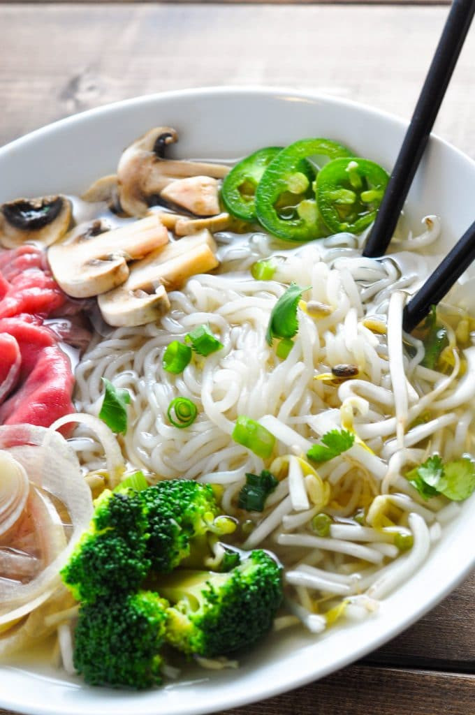 Noodles For Keto Diet  Low Carb Pho Vietnamese Beef Noodle Soup [Recipe] KETOGASM