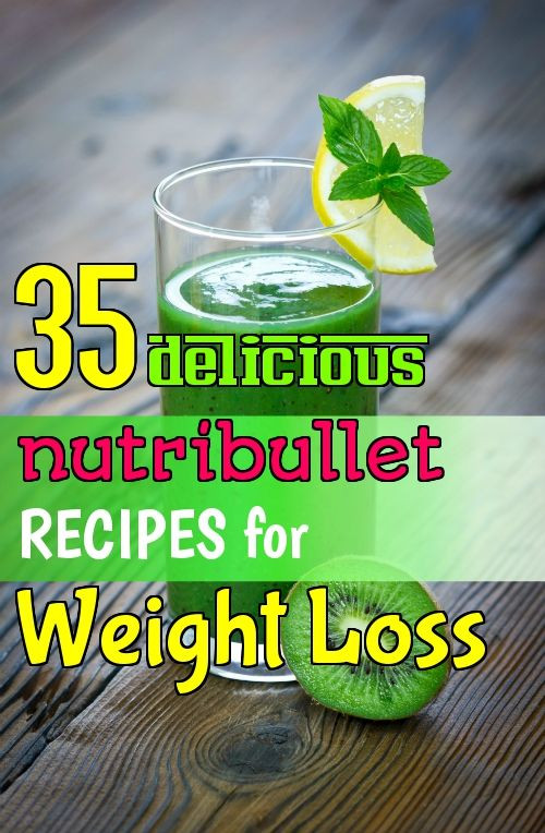 Nutribullet Smoothie Recipes For Weight Loss  100 Nutribullet Recipes on Pinterest