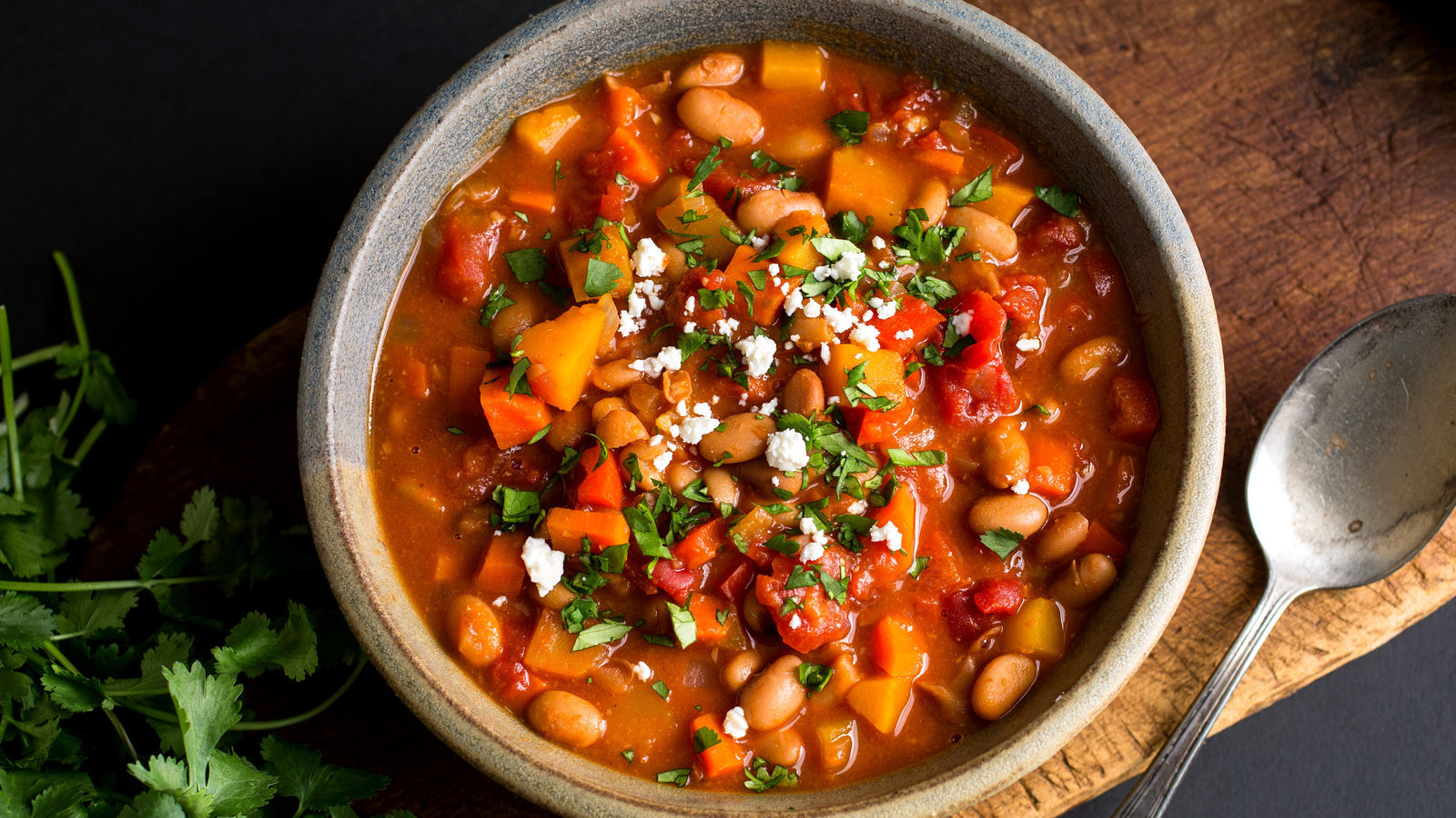 Nytimes Vegetarian Recipes  Ve arian Chili With Winter Ve ables Recipe NYT Cooking