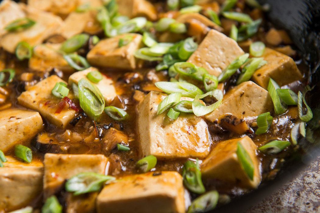 Nytimes Vegetarian Recipes  Mapo Tofu Goes Ve arian The New York Times