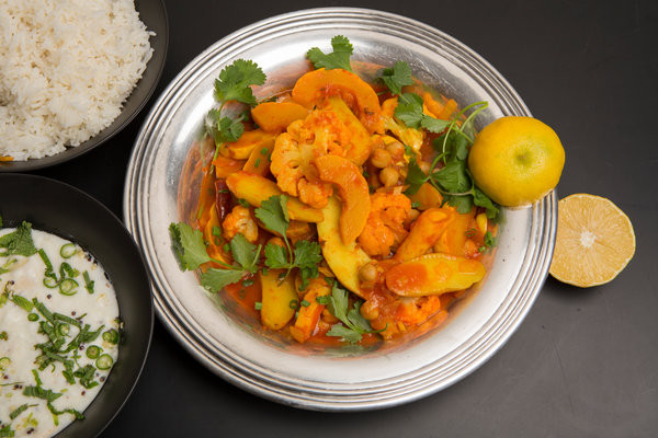Nytimes Vegetarian Recipes  Winter Ve able Curry Recipe NYT Cooking