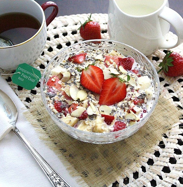 Oat Recipes For Weight Loss  50 Best Overnight Oats Recipes