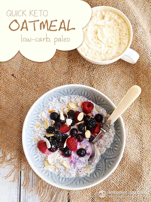 Oatmeal And Keto Diet  Quick Keto Oatmeal