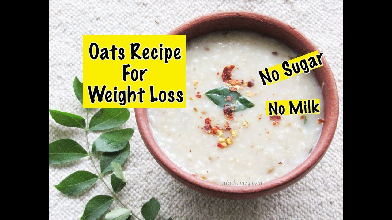Oats For Weight Loss  Oats Recipe For Weight Loss Diabetic Friendly Healthy
