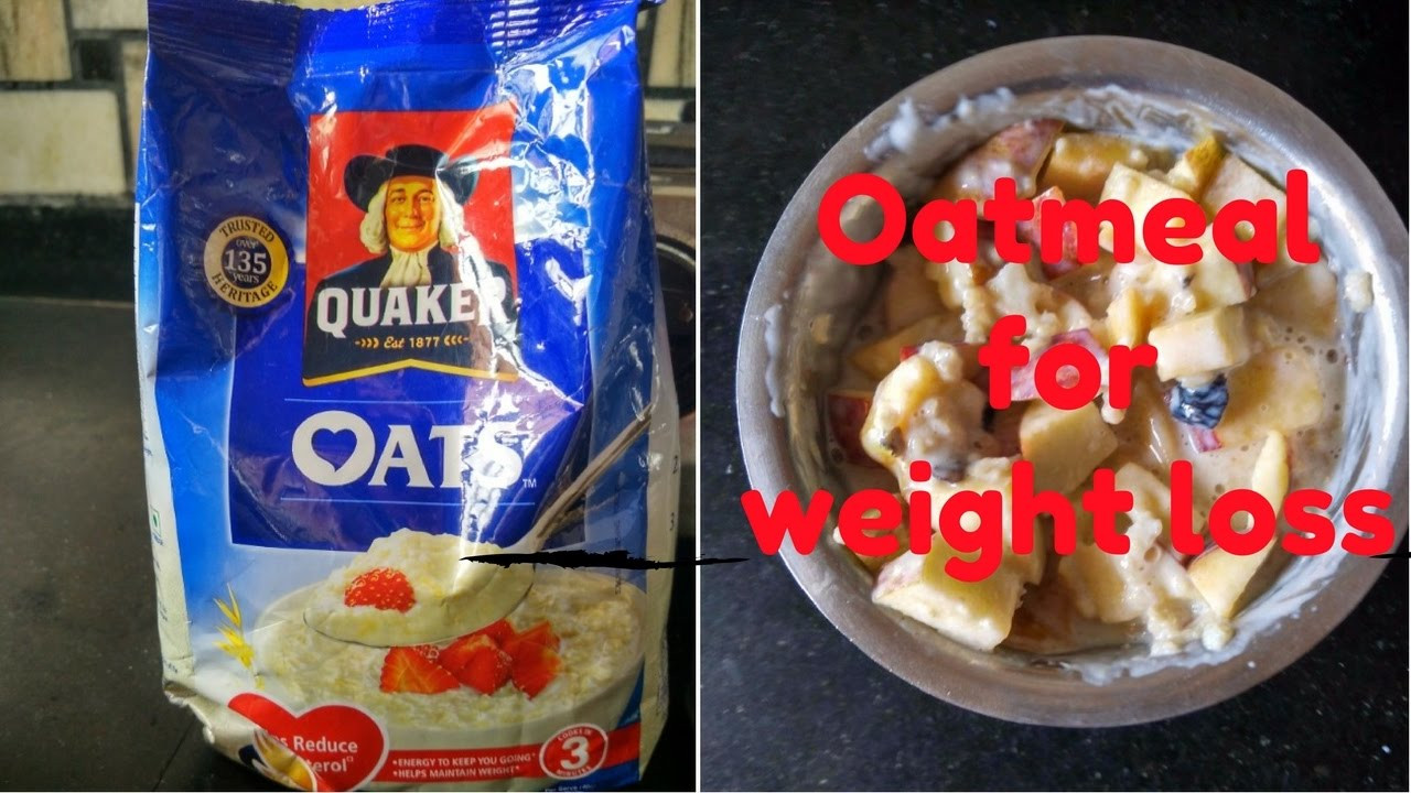 Oats For Weight Loss  Oats recipe for weight loss healthy breakfast ideas in 5