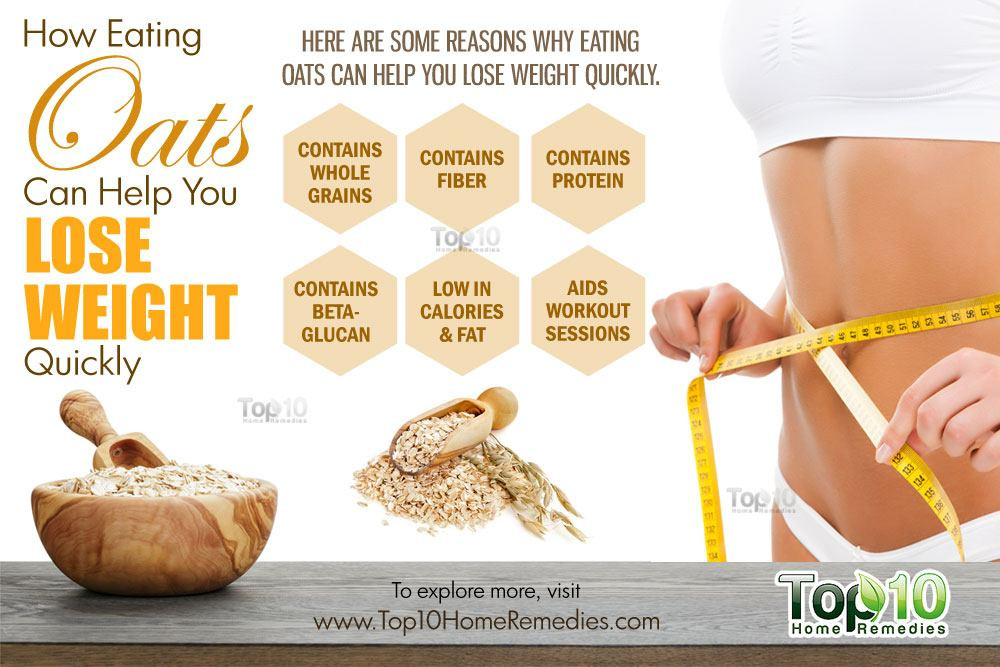 Oats For Weight Loss  How Eating Oats Can Help You Lose Weight Quickly