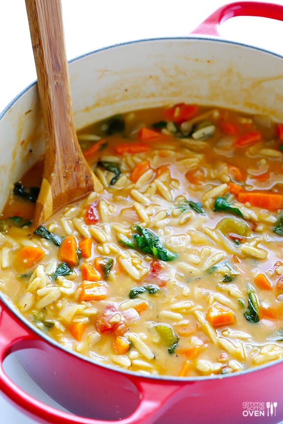 Orzo Recipes Vegetarian  best spinach soup recipe ever