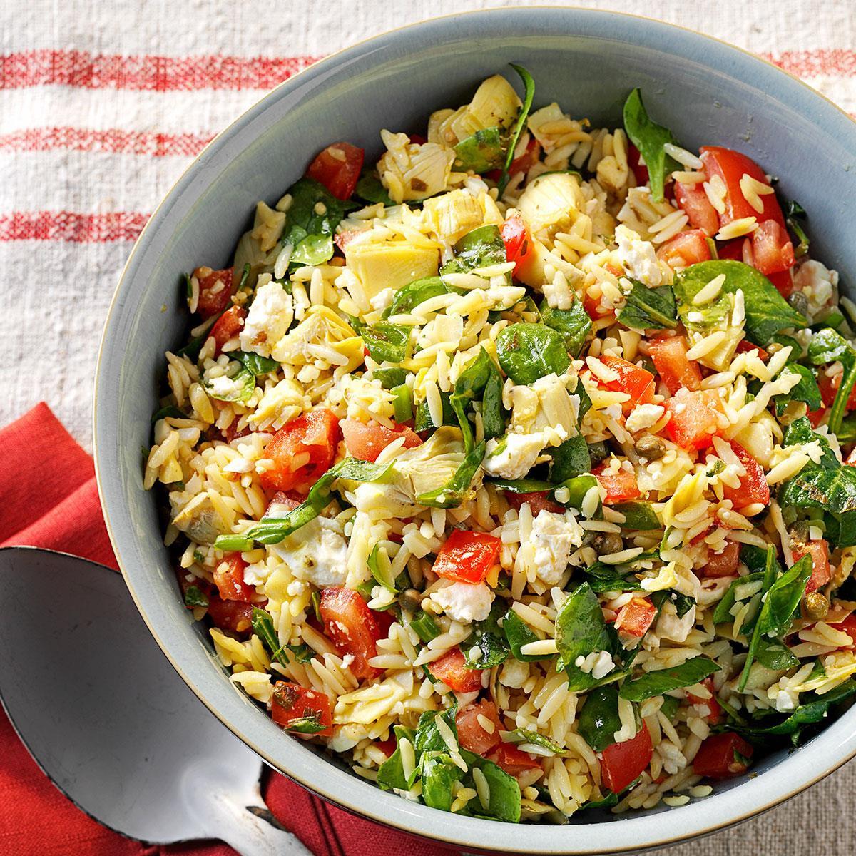 Orzo Recipes Vegetarian  Orzo Ve able Salad Recipe