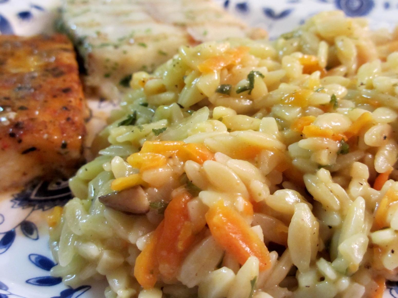 Orzo Recipes Vegetarian  Ve able Orzo Recipe