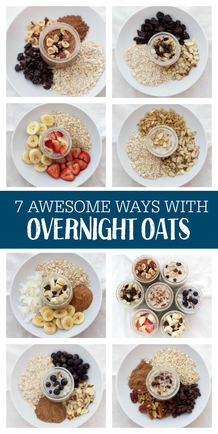 Overnight Oats Healthy Recipe  7 Ways with Overnight Oats e Lovely Life