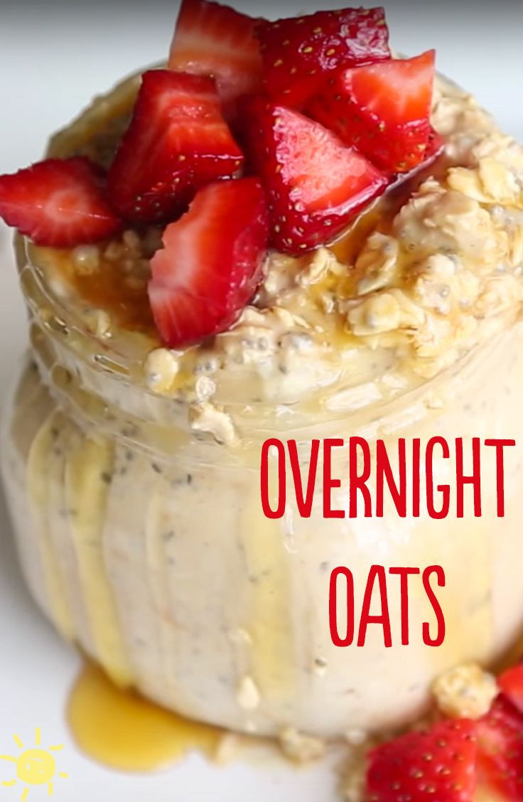 Overnight Oats Healthy Recipe  17 Best images about I love whatsupmoms on Pinterest