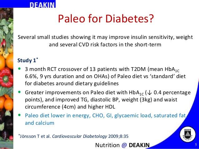 Paleo Diet For Diabetics  Paleo and Low Carb Diets for Diabetes