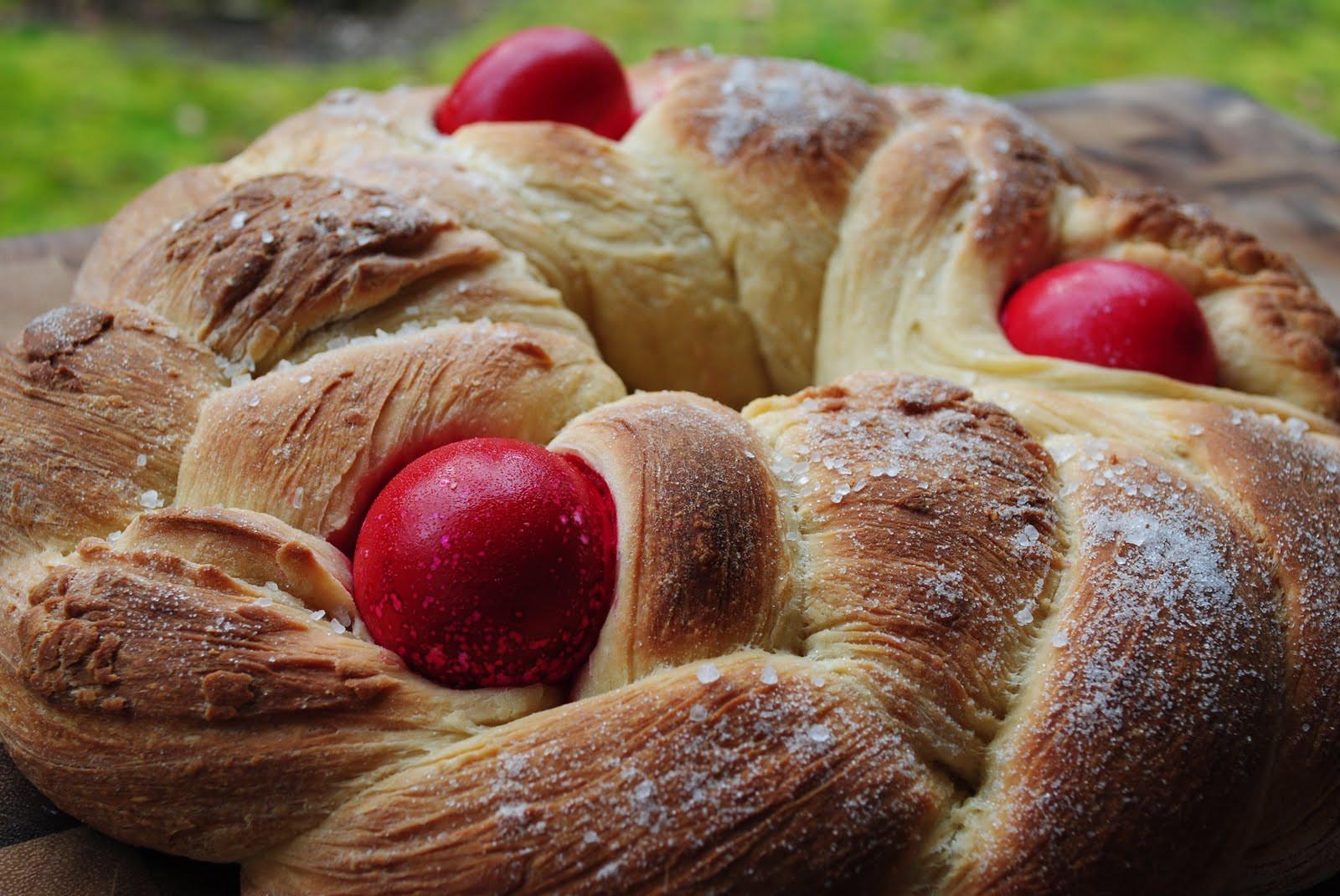 Pascha Easter Bread  Cookbook Preview Greek Easter Menu