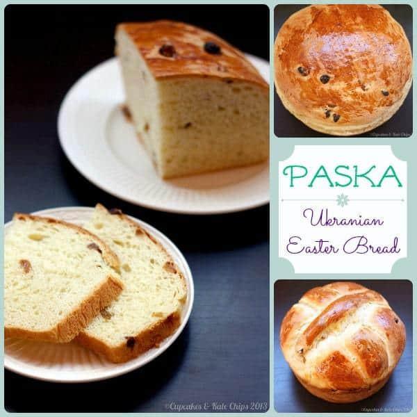 Pascha Easter Bread  Paska Ukranian Easter Bread Cupcakes & Kale Chips