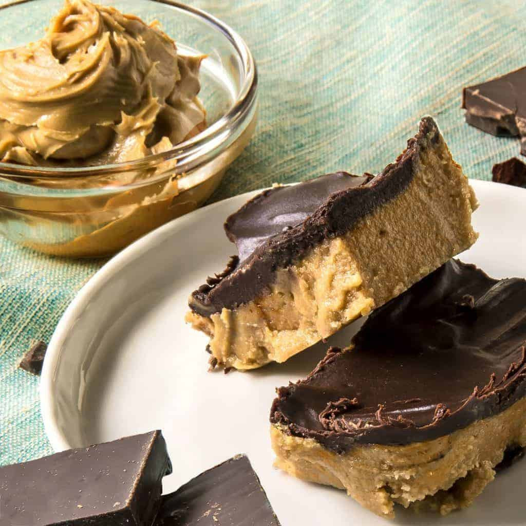 Peanut Butter Keto Diet  No Bake Keto Peanut Butter Chocolate Bars – Two Sleevers
