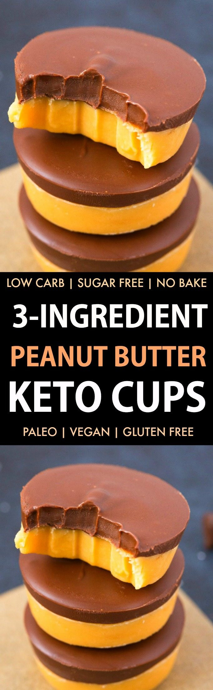 Peanut Butter Keto Diet  Healthy 3 Ingre nt Keto Peanut Butter Fudge Low Carb