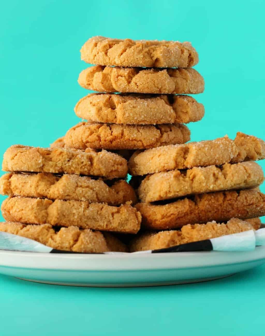 Peanut Butter Vegan Cookies  Crunchy Vegan Peanut Butter Cookies Loving It Vegan