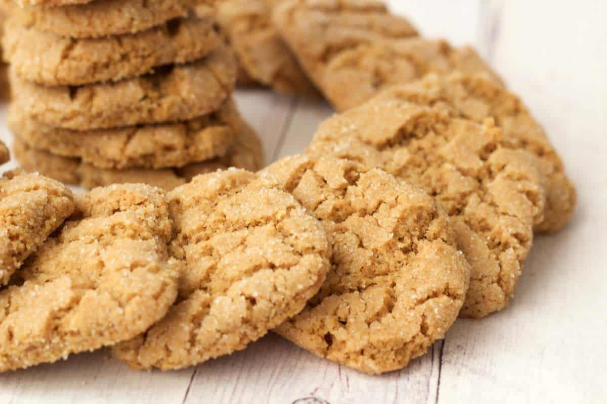 Peanut Butter Vegan Cookies  Crunchy Vegan Peanut Butter Cookies Loving It Vegan