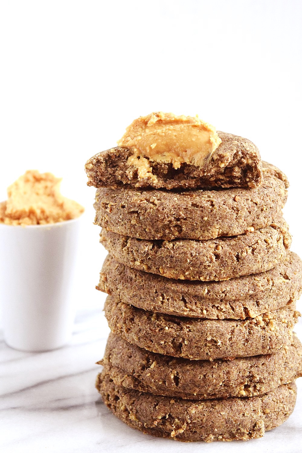 Peanut Butter Vegan Cookies  Vegan Peanut Butter Cookies Beaming Banana