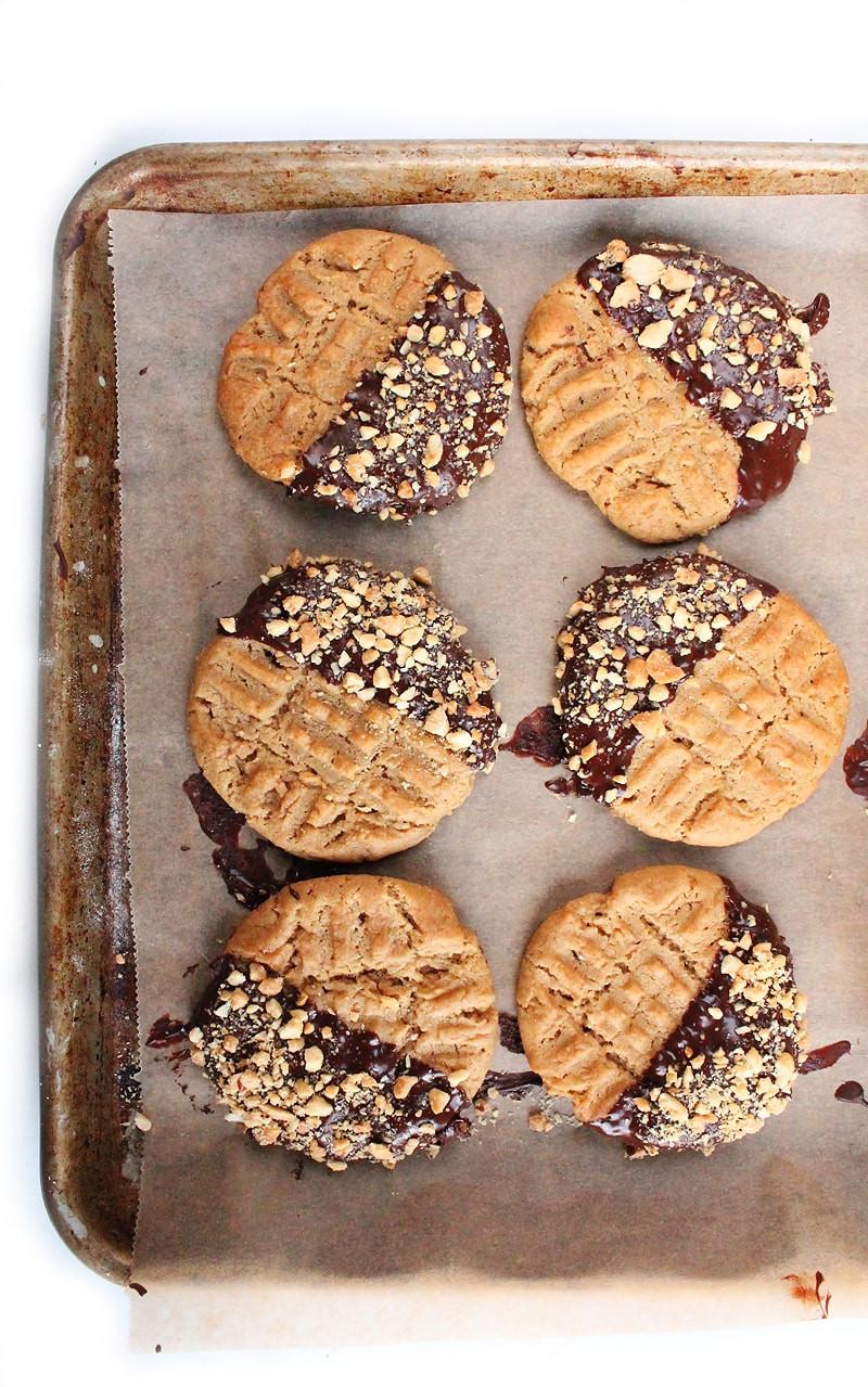 Peanut Butter Vegan Cookies  Vegan Chewy Peanut Butter Cookies