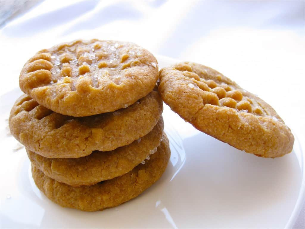 Peanut Butter Vegan Cookies  Vegan Peanut Butter Cookies Vegan Yumminess