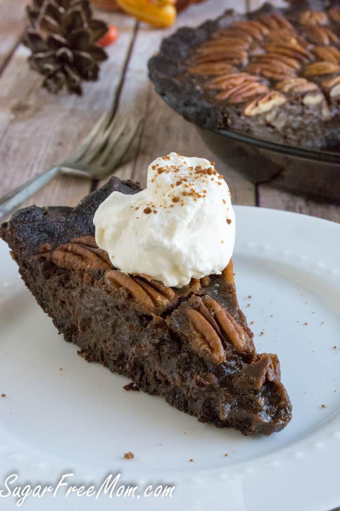 Pecan Pie For Diabetics  Low Sugar Low Carb Chocolate Pecan Pie