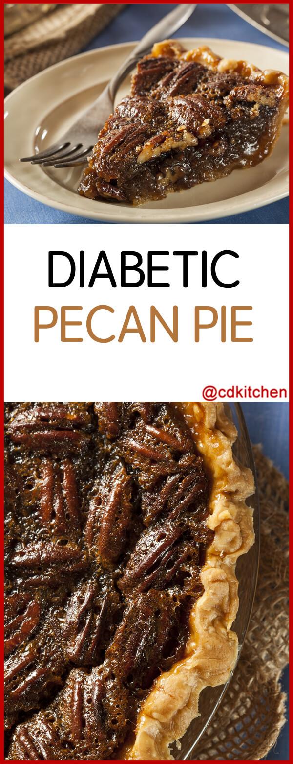 Pecan Pie For Diabetics  Diabetic Pecan Pie Recipe