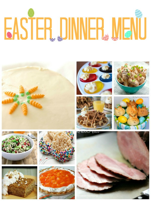 Perfect Easter Dinner Menu  It Thursday from Link Party 39 TGIF This
