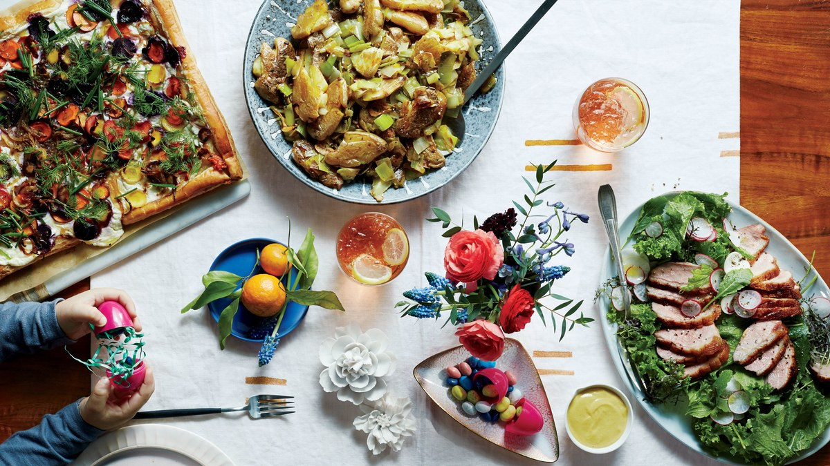Perfect Easter Dinner Menu  This Is the Perfect Easter Sunday Menu Bon Appétit