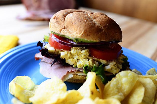 Pioneer Woman Easter Ham  Easter Leftover Sandwich