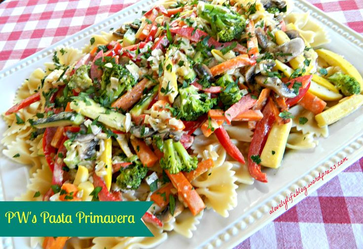 Pioneer Woman Vegetarian Recipes  Pioneer Woman's Pasta Primavera Recipe