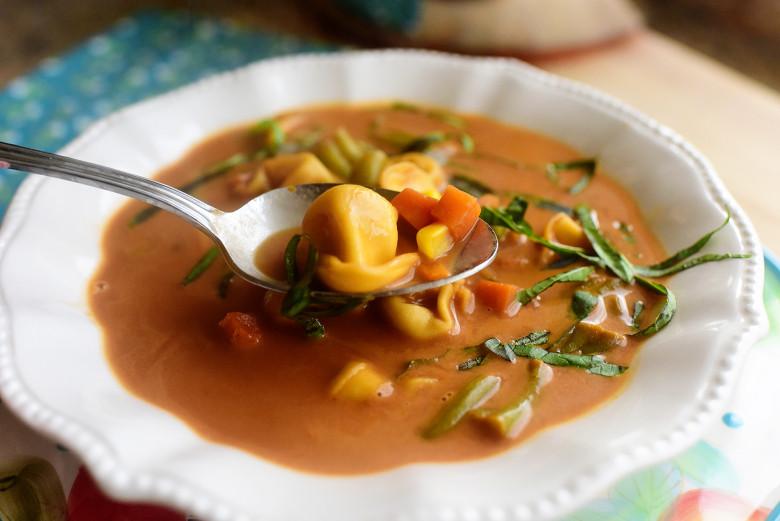 Pioneer Woman Vegetarian Recipes  Veggie Tortellini Soup