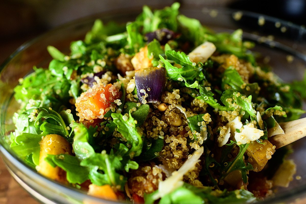 Pioneer Woman Vegetarian Recipes  Quinoa with Buttery Roasted Ve ables