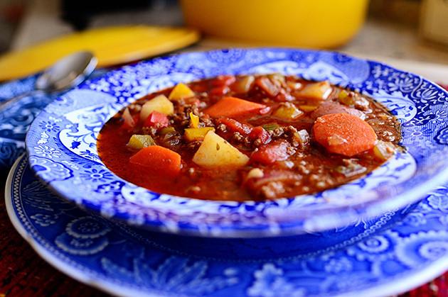 Pioneer Woman Vegetarian Recipes  Hamburger Soup