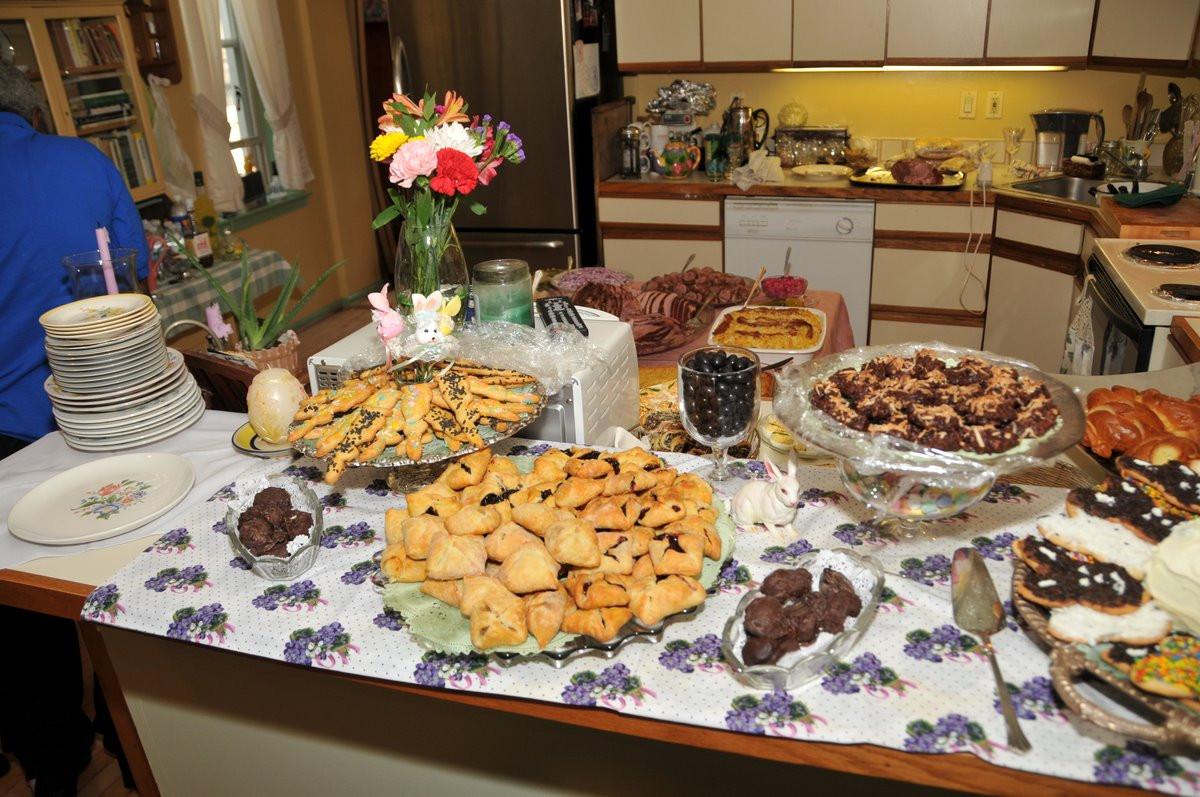 Polish Easter Dinner  f My Plate Easter Dinner Spread