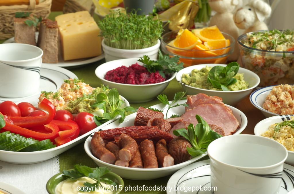 Polish Easter Dinner  polish easter breakfast menu
