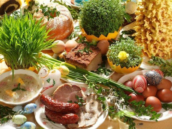 Polish Easter Dinner  polish easter dinner Food