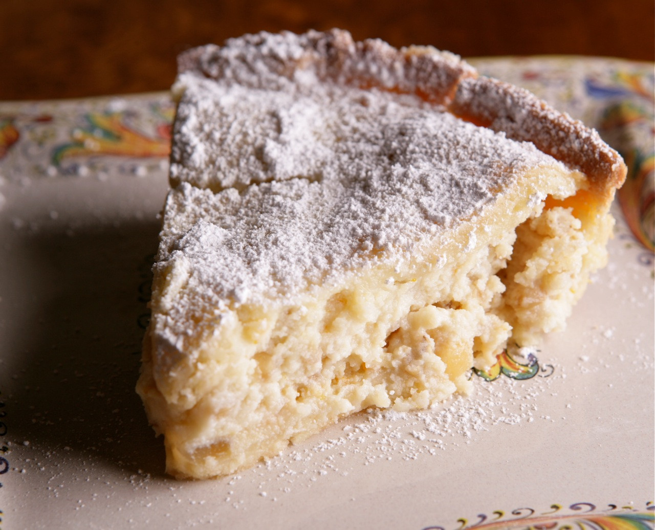 Popular Easter Desserts  Pastiera di Grano Traditional Easter dessert of Naples