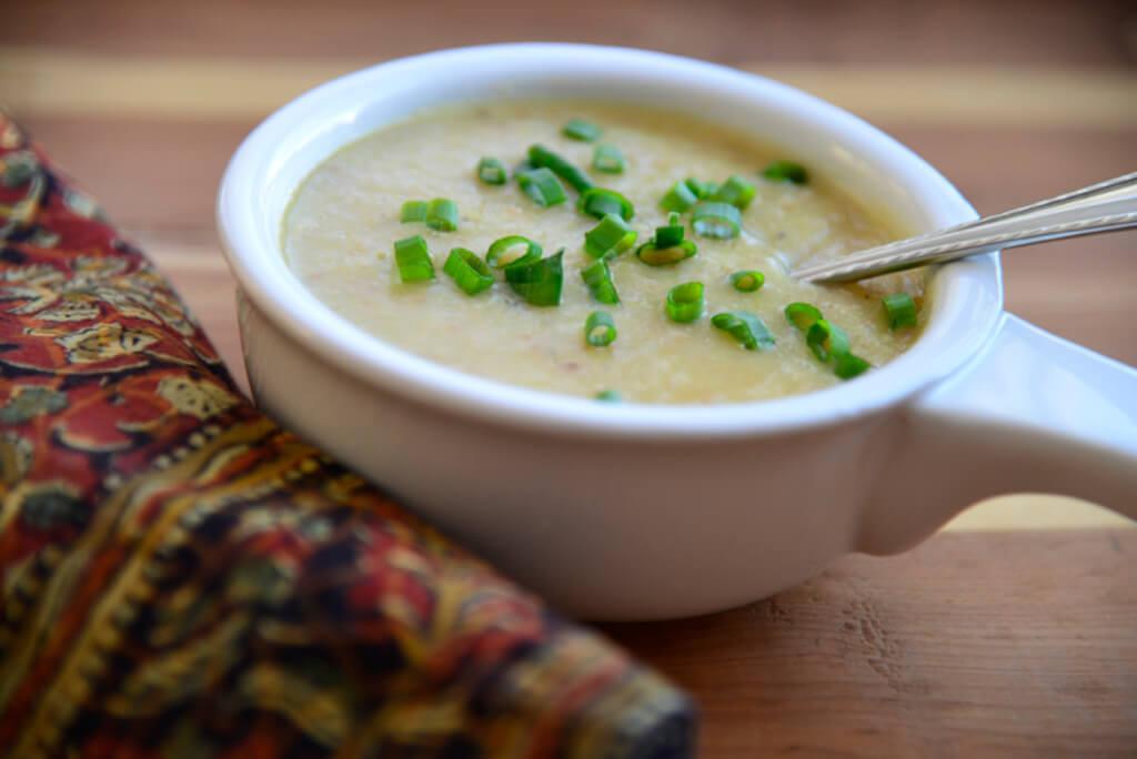 Potato Leek Soup Dairy Free  Potato Leek Soup with Bacon Now Find Gluten Free