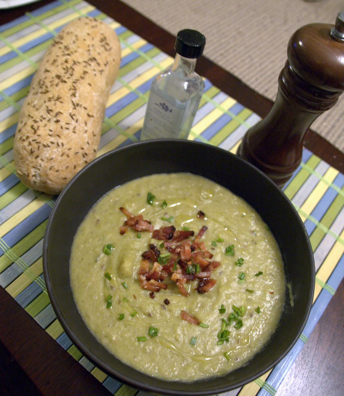 Potato Leek Soup Dairy Free  Easily Vegan Potato Leek Soup Recipe Ed Marsh